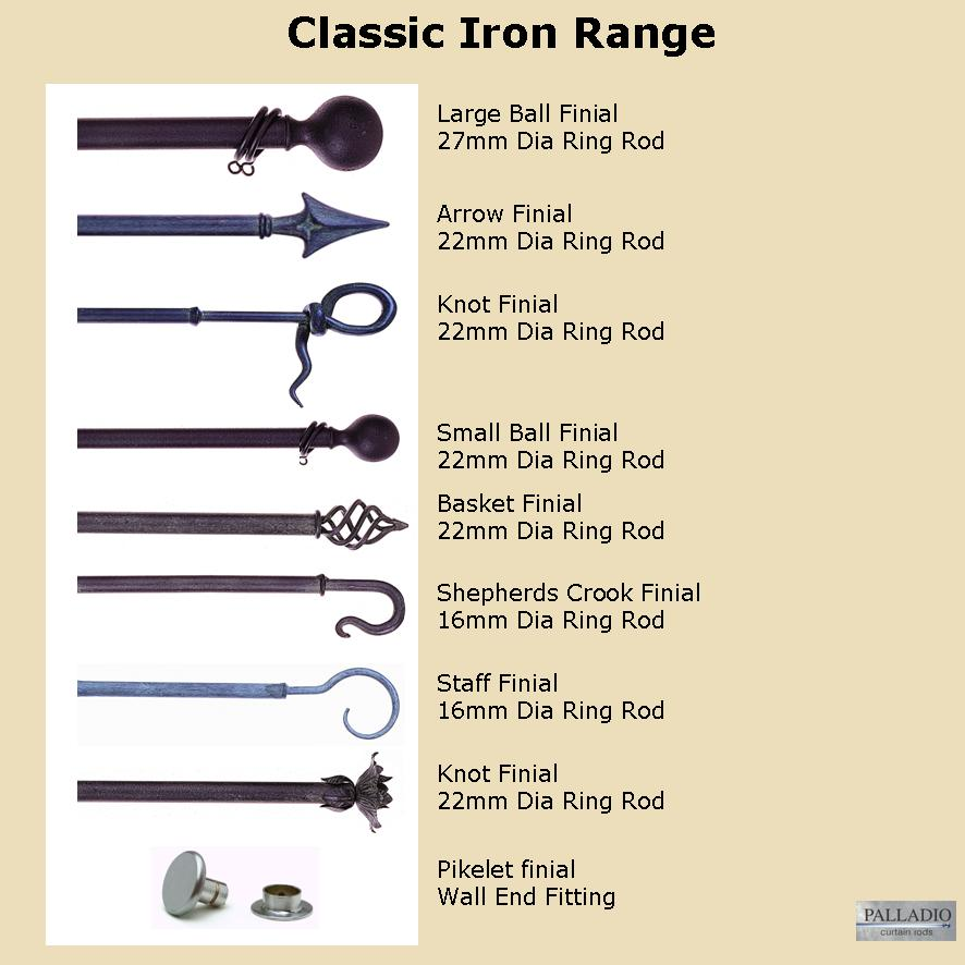 Curtain Rods Ironcraft
