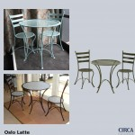 Oslo Latte Table and Chairs