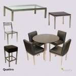 Quattro Tables, Chairs, Stool