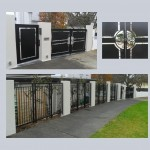 Driveway Gate-Pedestrian Gate-Fence
